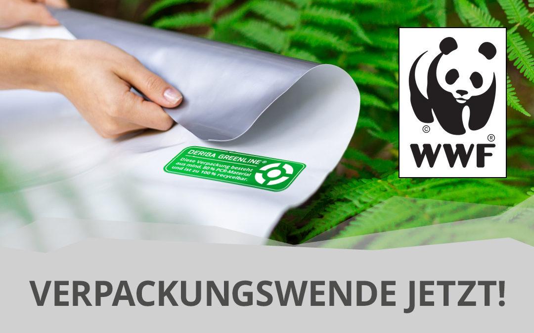 WWF Deriba Greenline Folie Verpackungswende